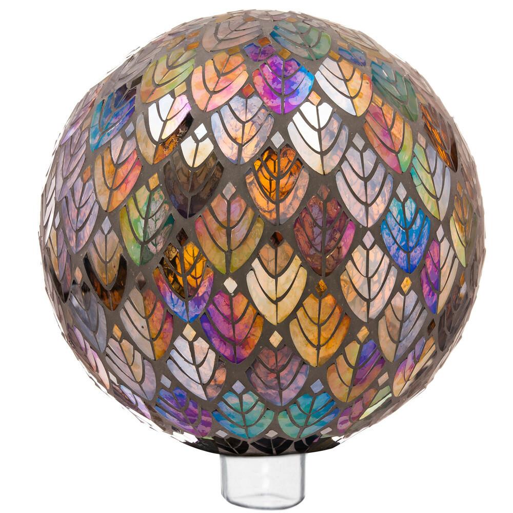 Baroque Splendor Mosaic Gazing Ball