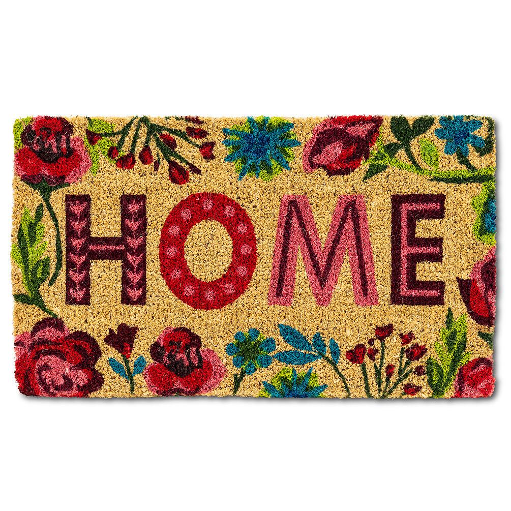 Doormat Floral Border