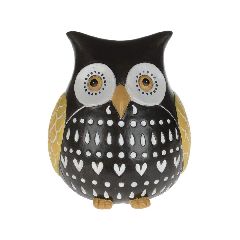 Brown/Yellow Rotund Owl