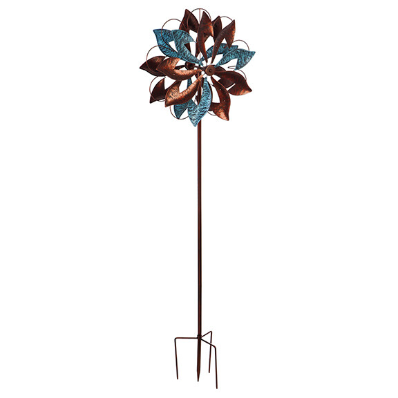 """84"""" Wind Powered Lighted Wind Spinner, Blades"""