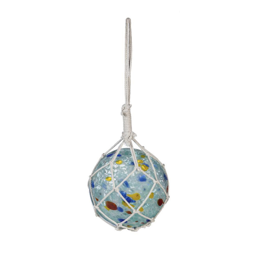 Hanging Glass Decorative Buoy L