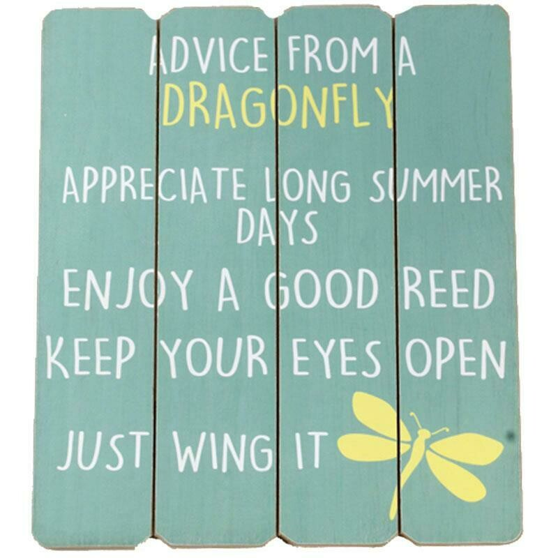 Advice From A Dragonfly Decor
