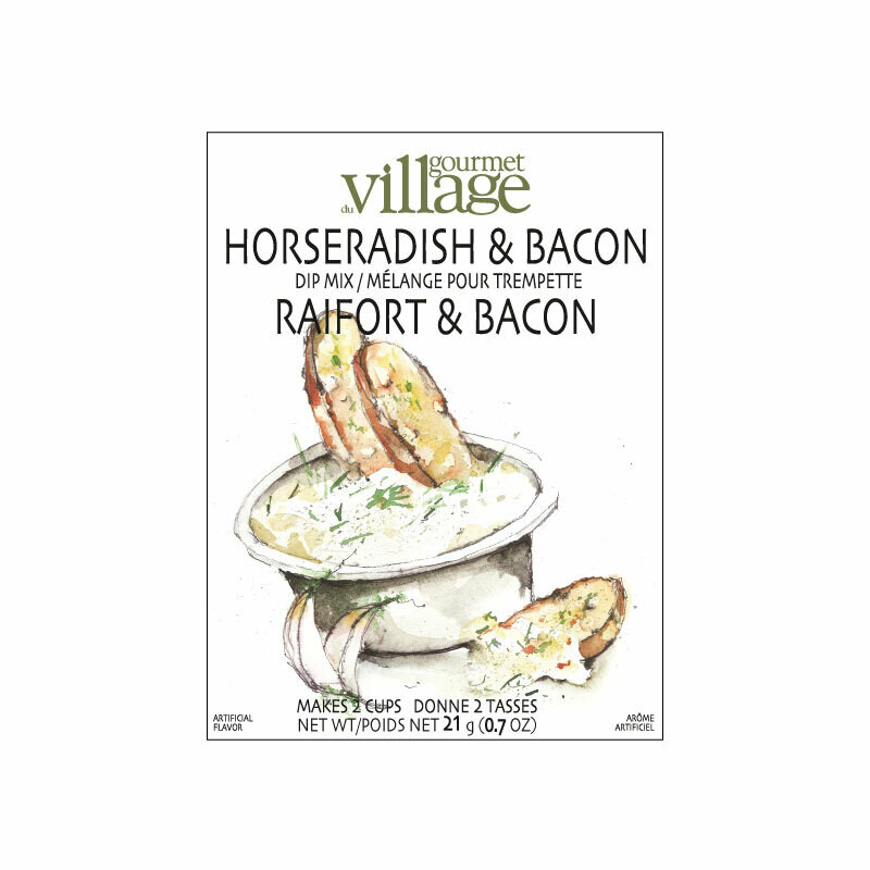Horseradish Bacon Dip Mix