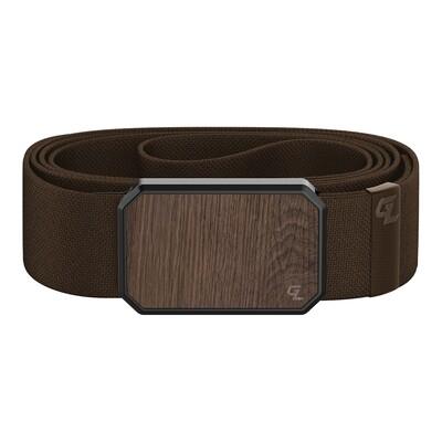 Groove Belt Walnut / Brown