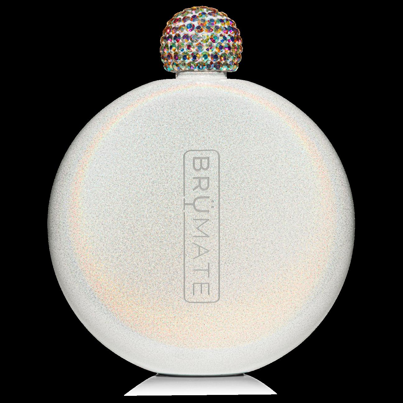 Glitter Flask | Glitter White