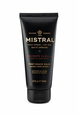 Mens Post-Shave Balm - Bourbon Vanilla