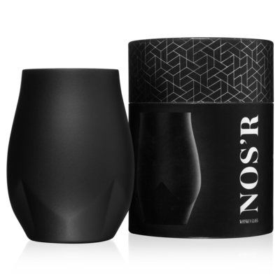 Nos'R Insulated Nosing Glass For Whiskey | Black