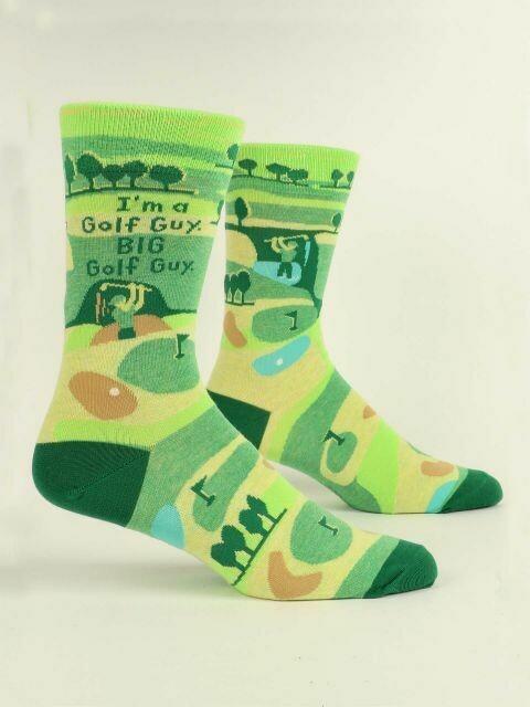 I'm A Golf Guy M-Crew Sock