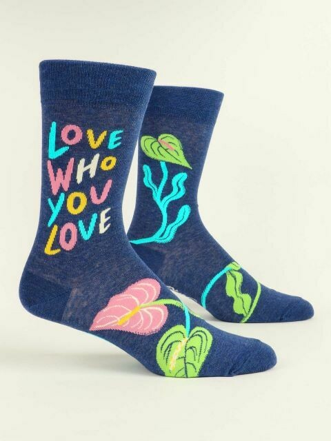 Love Who You Love M-Crew Sock