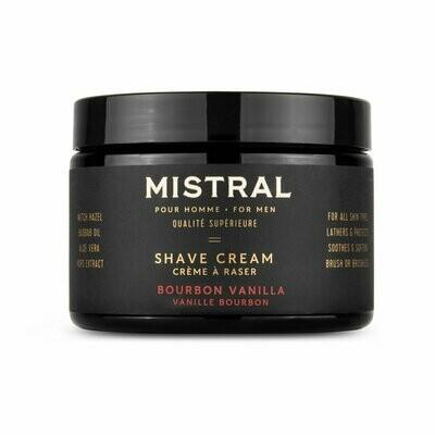 Mens Shave Cream - Bourbon Vanilla