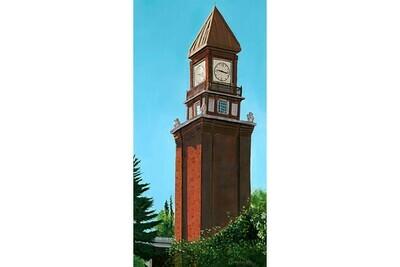 Perron St. Clock Tower, #3 in the St. Albert Series