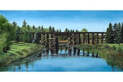 St. Albert Trestle Bridge - 12