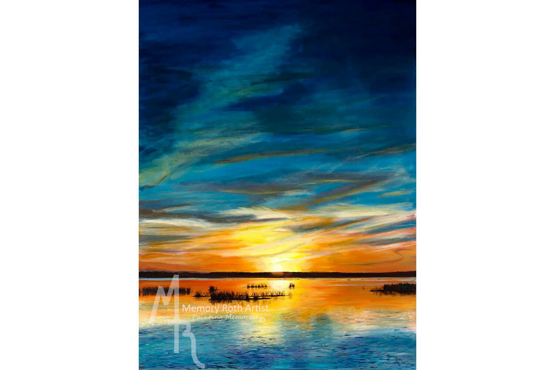 Sunset at Big Lake
