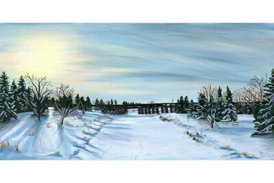 Snow on the Trestle, #4 in the St. Albert Series