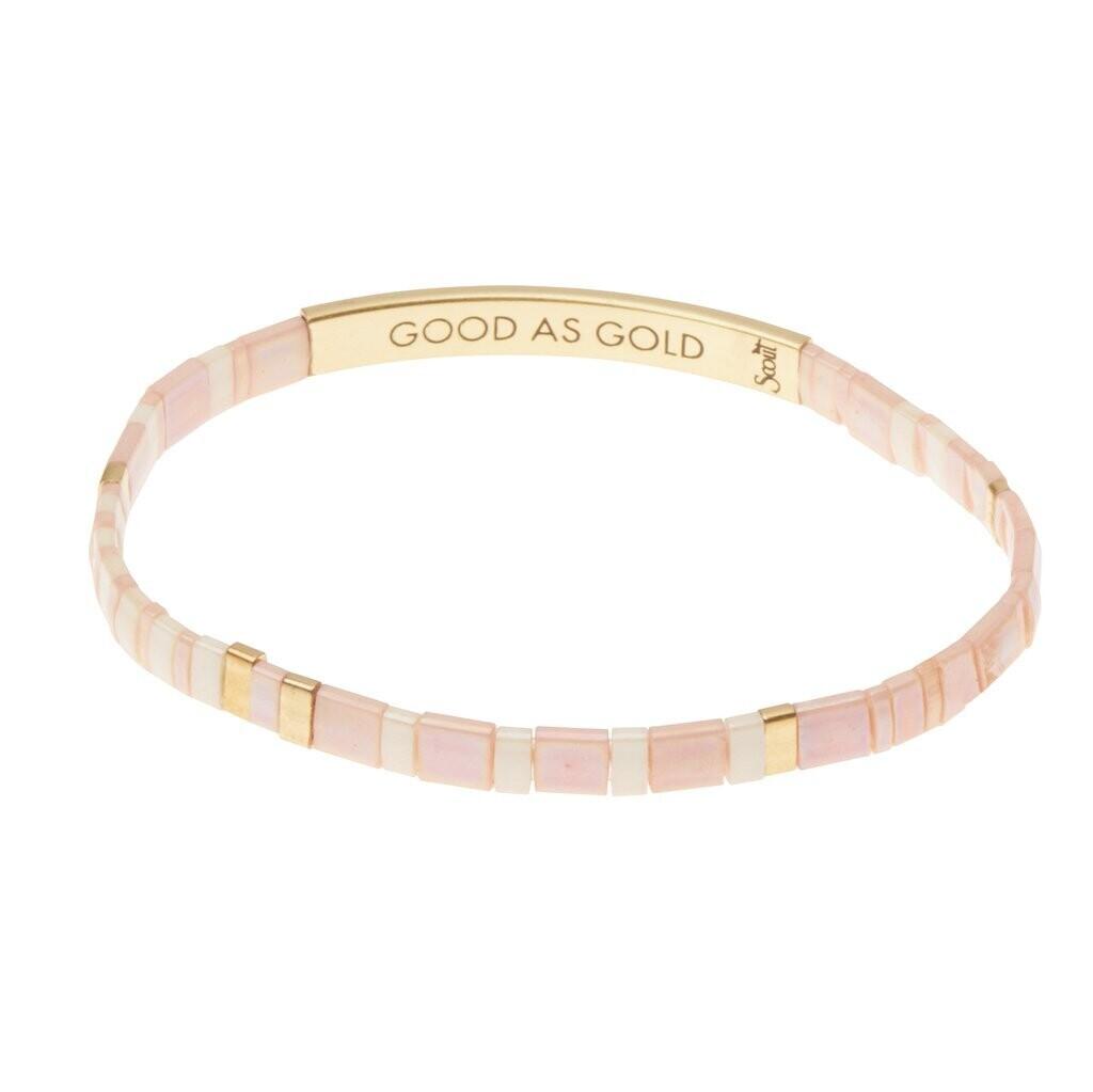 Miyuki Bracelet - Good as Gold