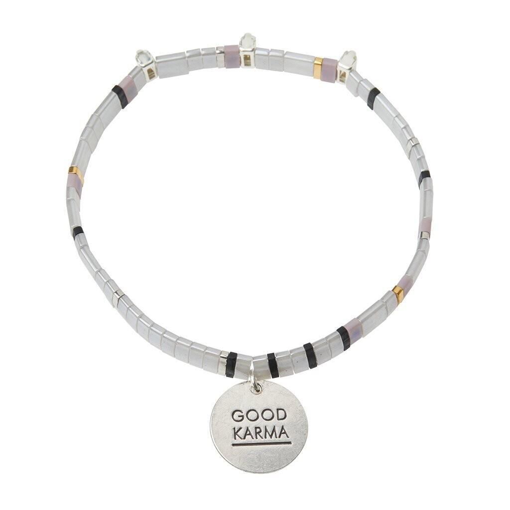 Miyuki Charm Bracelet - Good Karma