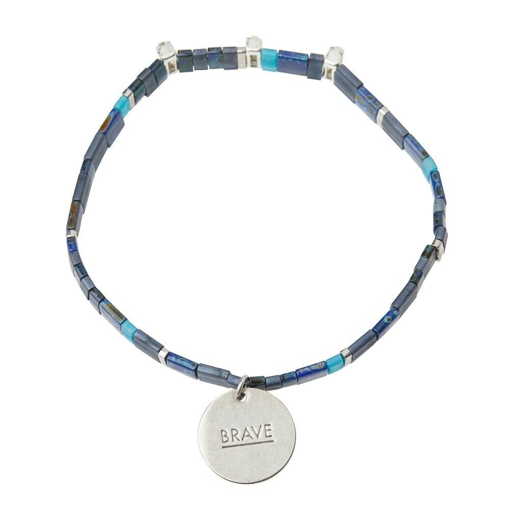 Miyuki Charm Bracelet - Brave