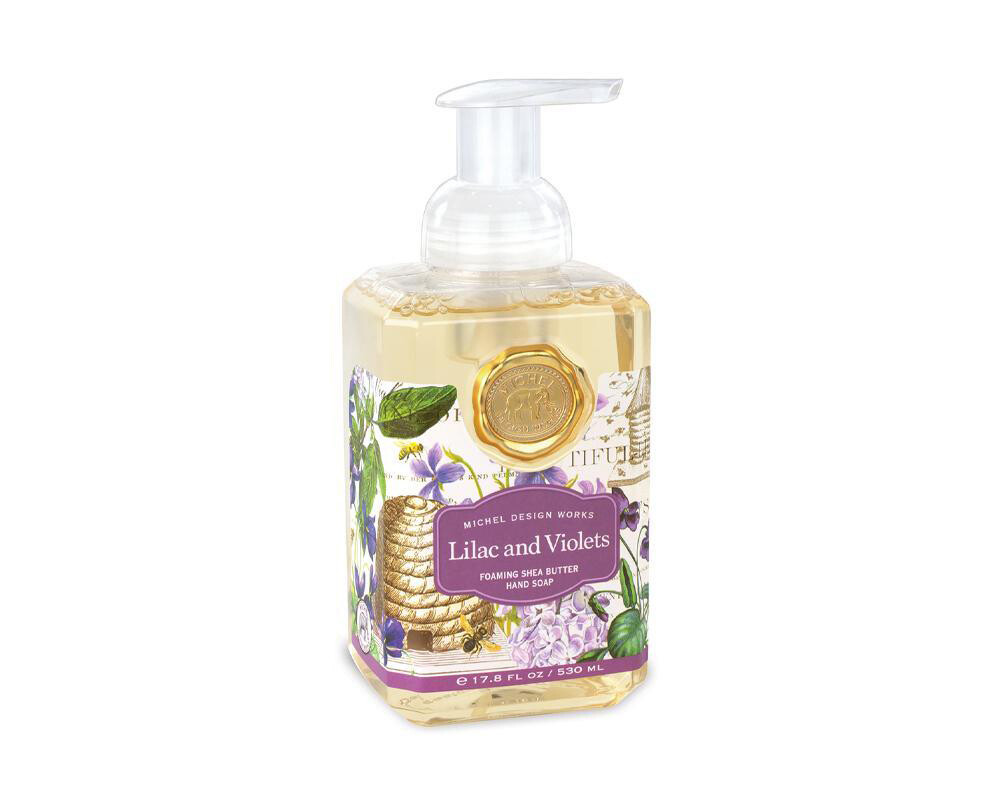 Lilac And Violets - Foaming Soap
