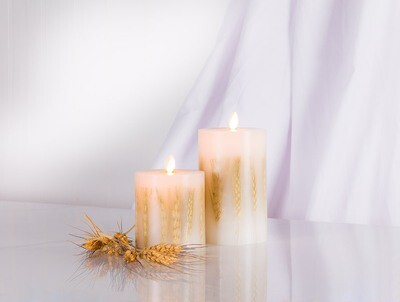 Reallite LED Candle - Wheat