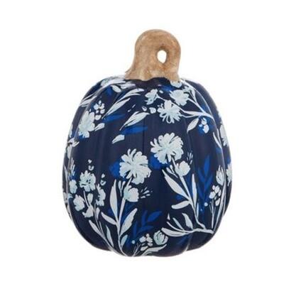 Ceramic Pumpkins, Artisan Blues M