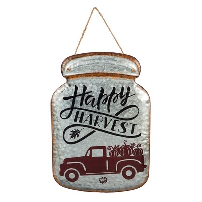 Happy Harvest Mason Jar
