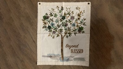 Canvas Wall Hanging - Beyond Blessed