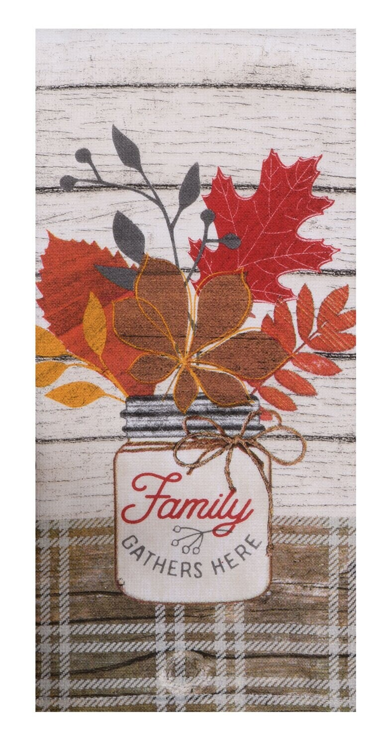 Harvest Blessings Family DP Terry Towel