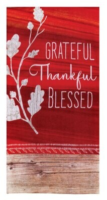 Harvest Tranquility Grateful DP Terry Towel