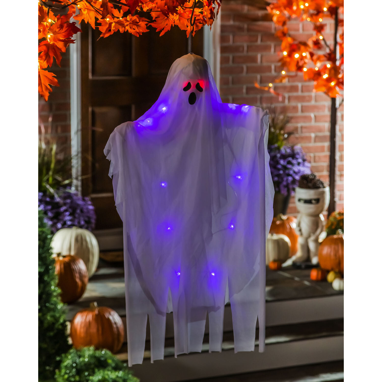 Light-Up Hanging Ghost