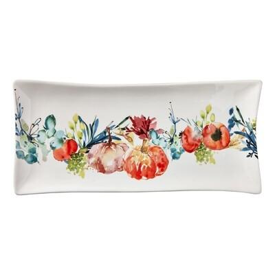 Autumn Botanical Long Platter