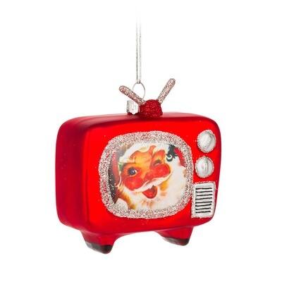 Vintage Television Ornament