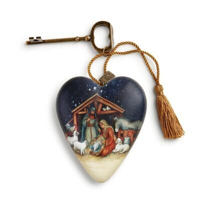 Art Heart - O Holy Night Nativity
