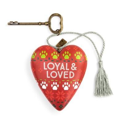 Art Heart - Loyal/love Paw Print