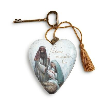 Art Heart - Let Us Adore Him