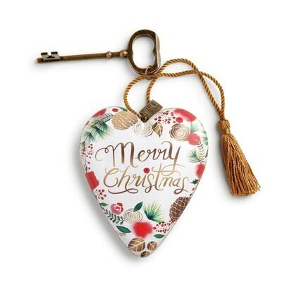 Art Heart - Merry Christmas Wreath