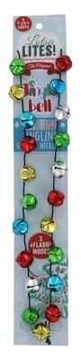 Light Up Jingle Bell Necklace