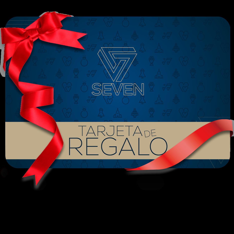 TARJETA DE REGALO SEVEN
