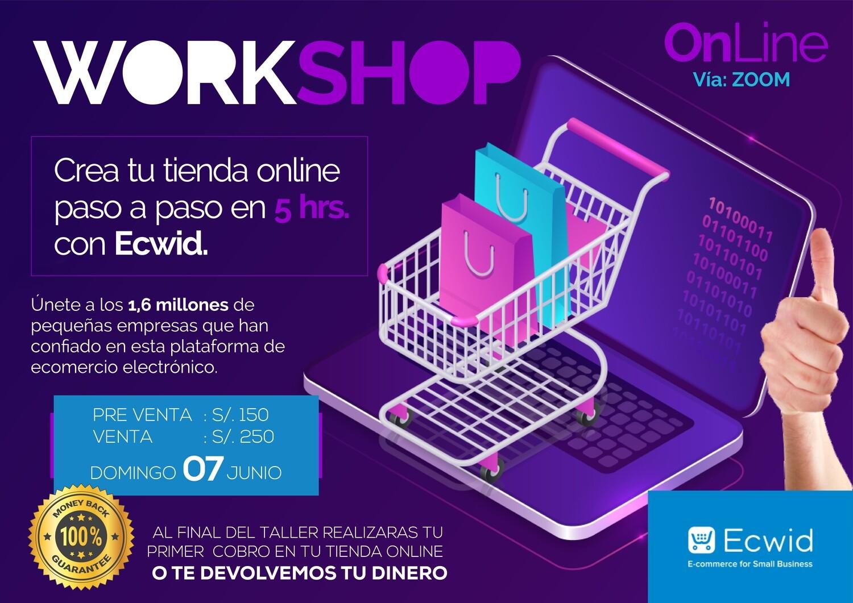 WORKSHOP | TIENDAS ONLINE CON EDWIC