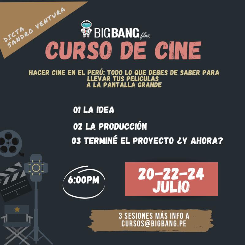 CURSO DE CINE | HACER CINE EN EL PERU