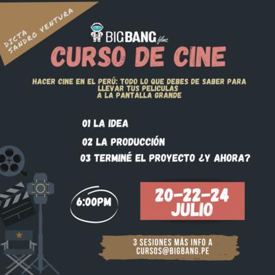 CURSO DE CINE   HACER CINE EN EL PERU