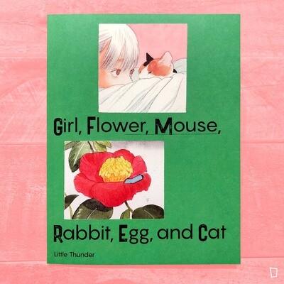 門小雷《Girl, Flower, Mouse, Rabbit, Egg and Cat》小畫冊