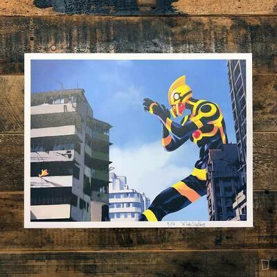 麥少峯《香港未來》Art Print