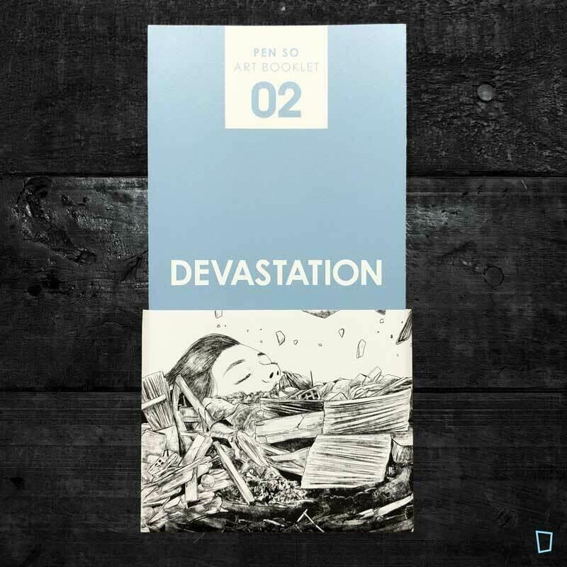 Pen So《Art Booklet 02 - DEVASTATION》