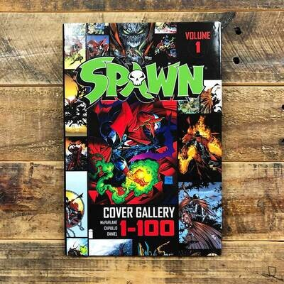 Todd McFarlane《Spawn Cover Gallery》Volume 1