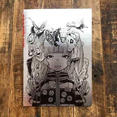 Acky Bright《BORDER LINE Illustration Book》插畫集