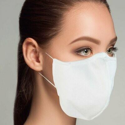 Gesichtsabdeckung - Hygieneset 1 wiederverwendbar