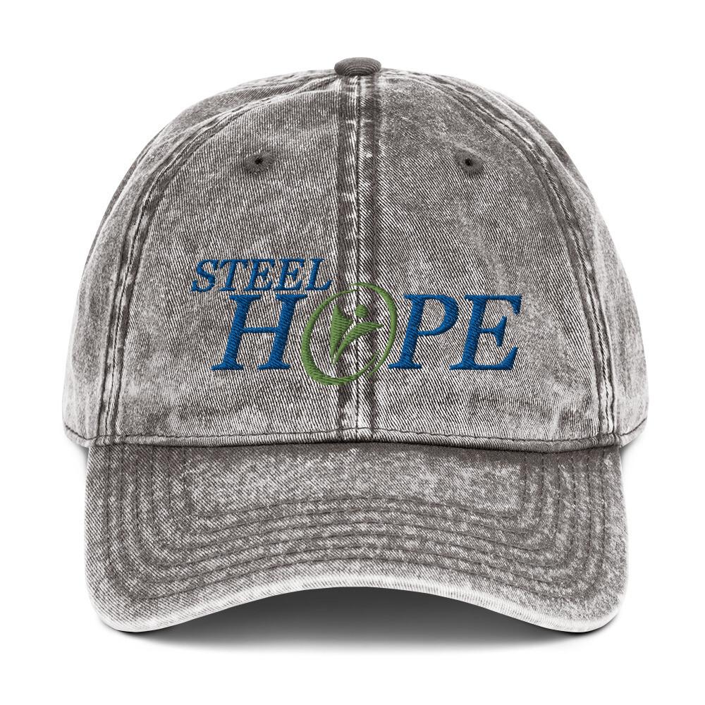 Steel Hope Vintage Cotton Twill Cap