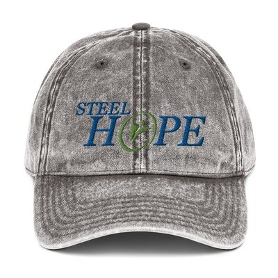 Steel Hope Vintage Cotton Twill Cap