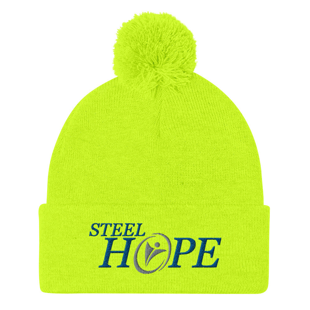 Steel Hope Silver others Pom-Pom Beanie