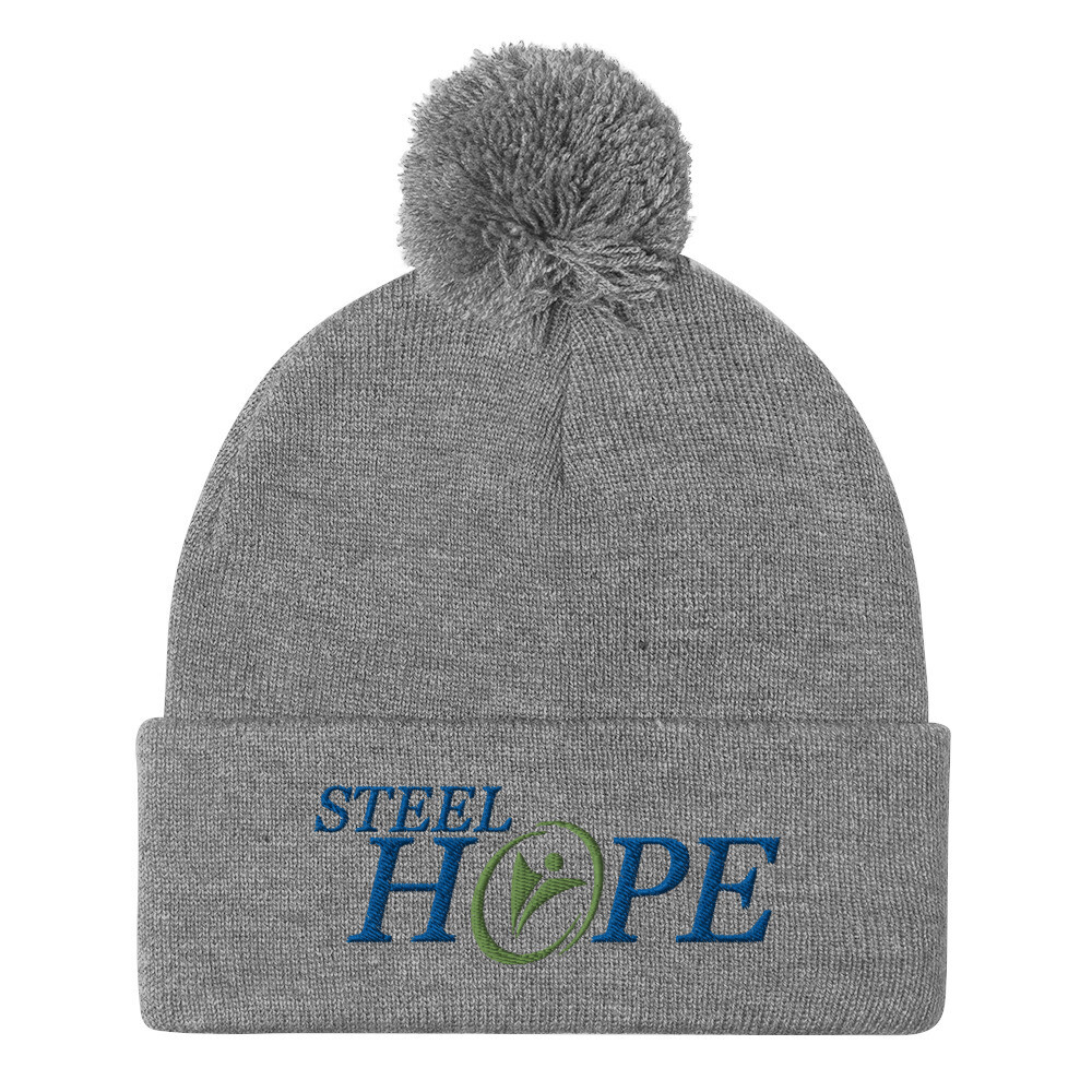 Steel Hope green others Pom-Pom Beanie